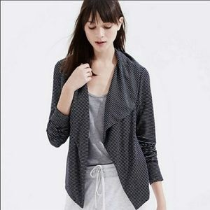 Lou & Grey Signature Soft Striped Cardigan Jacket